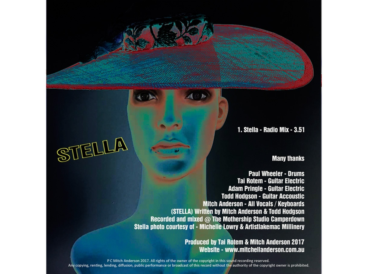 STELLA (Single Release) - Mitch Anderson - Radio Mix 2017