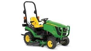 John Deere 1025R compact tractor technical service repair manual TM126919