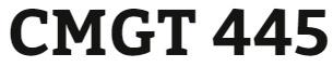 CMGT 445 Week 5 Lynda.com®: Process Improvement Fundamentals