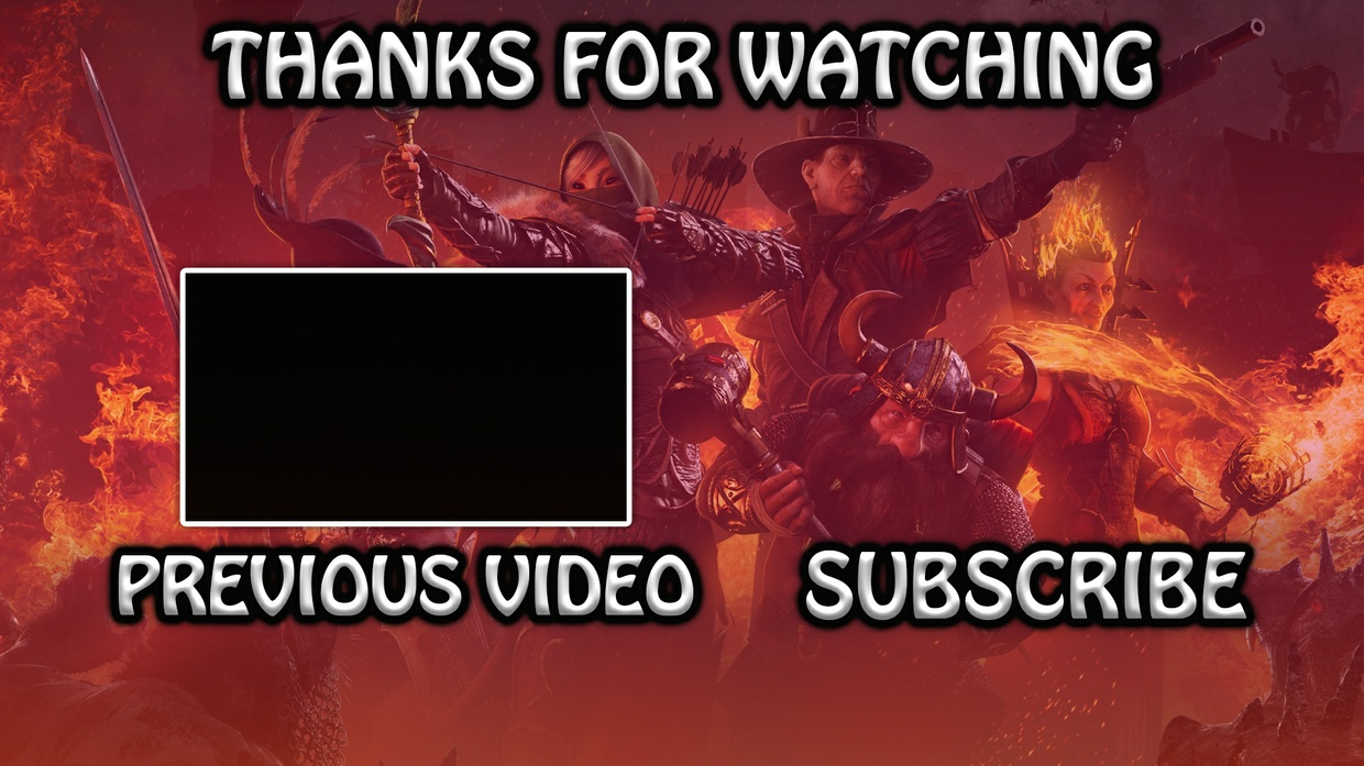 Professional YouTube Outro