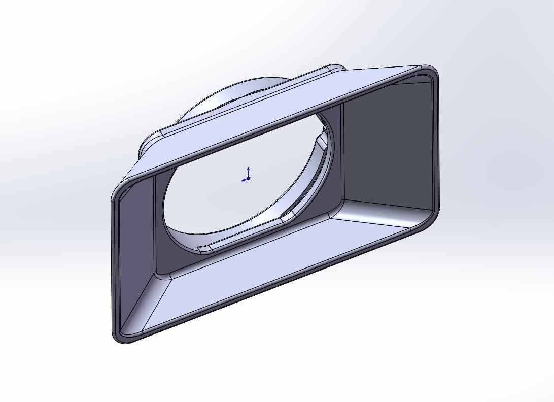 STL-FILE - Mattebox for 77mm Filter