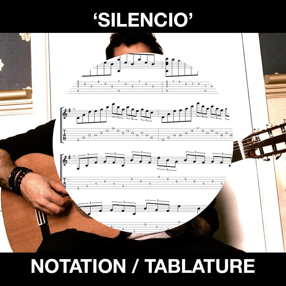 Silencio - Ben Woods - Flamenco Guitar Tabs and Notation