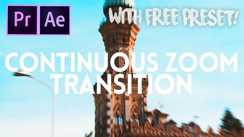 FREE Continuous Zoom Preset!