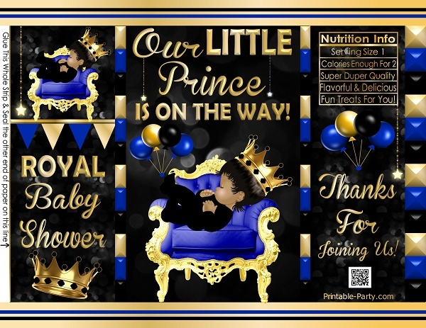 POTATO-chip-favor-bags-royal-PRINCE-BABY-SHOWERblueblackgold