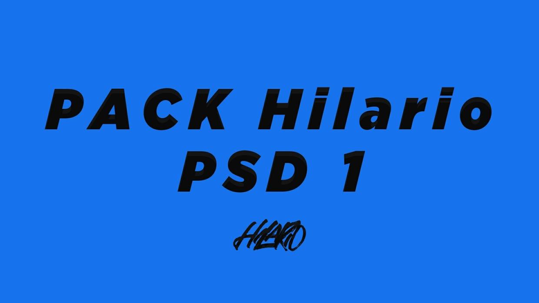 PACK HILARIO PSD 1