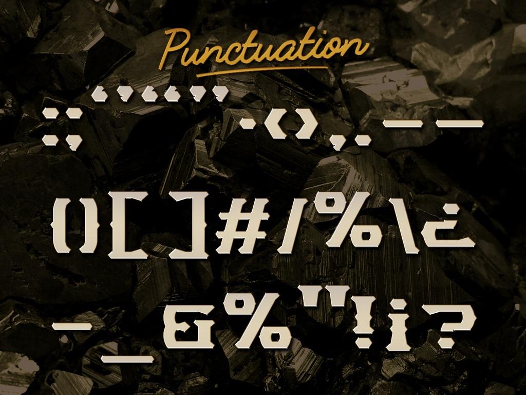 Miners Font