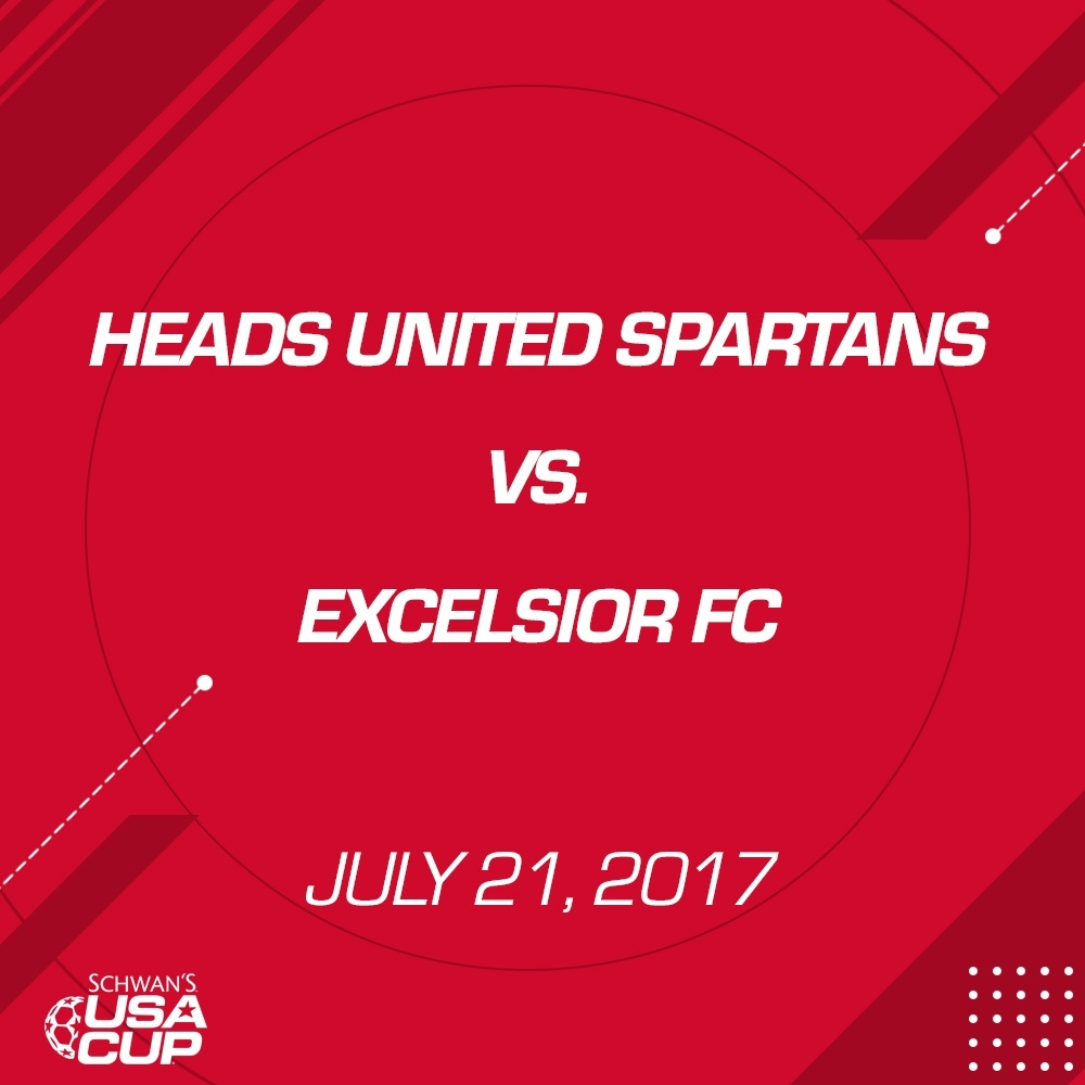 Girls U19 Silver - July 21, 2017  - Heads United Spartans vs Excelsior FC