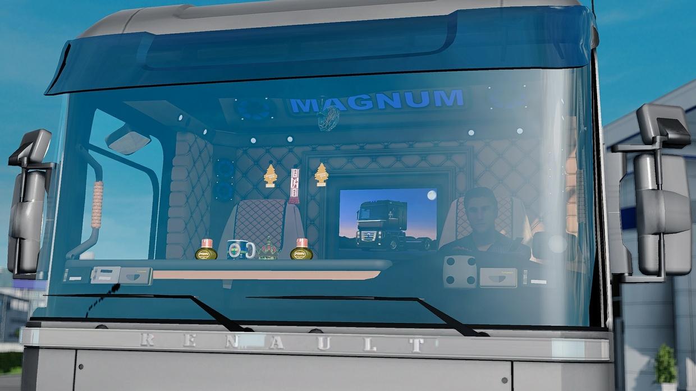 Renault Magnum Custom Interior ETS 2