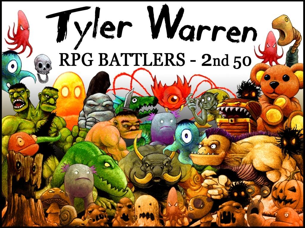 Tyler Warren RPG Battlers - 2nd 50 Monsters