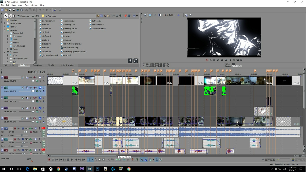 No Past Lives Project File + cc and Song (AE + SV)