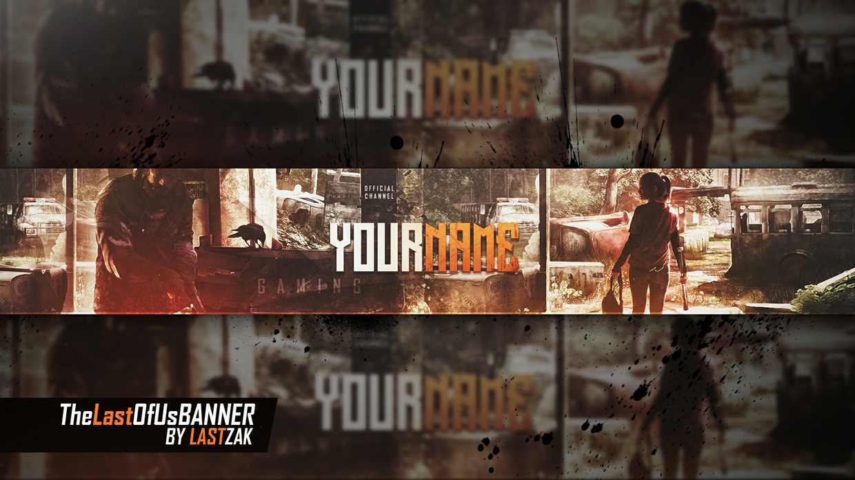 The Last Of Us Youtube Banner by LastZAK
