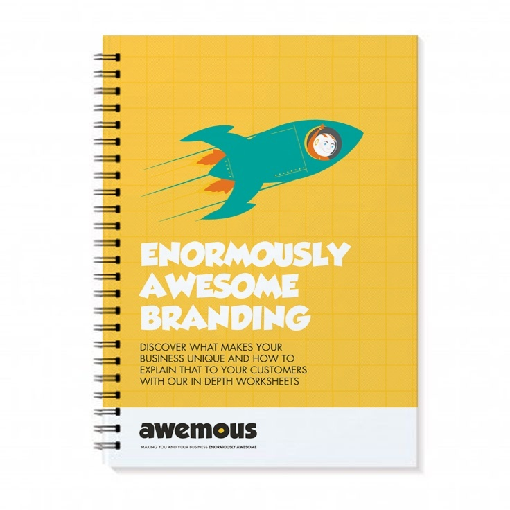 Branding & Business Strategy Workbook from Awemous