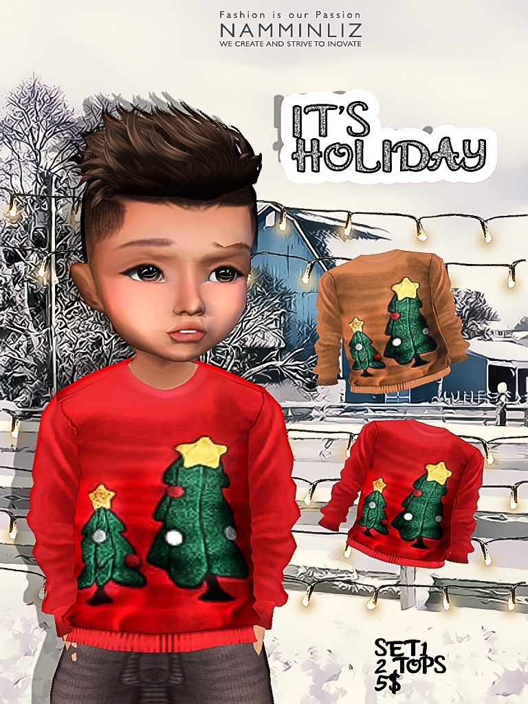 It's Holiday Set1 two tops imvu textures JPG NAMMINLIZ life sale