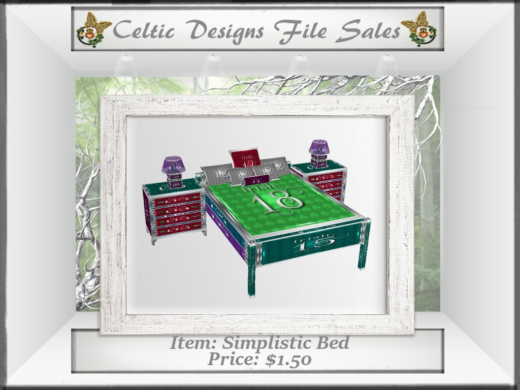 CD Simplistic Bed