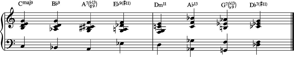 Advanced Jazz Harmony - Huw Warren