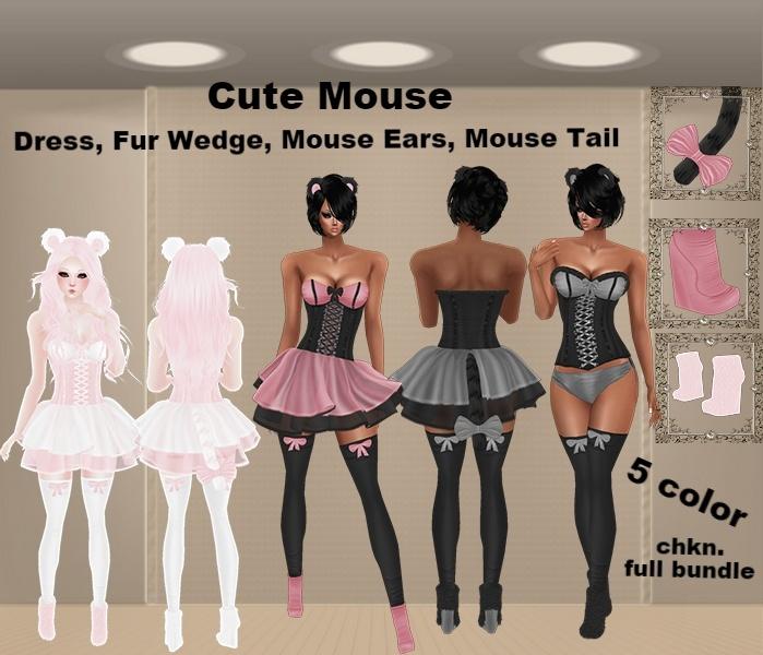 WNT -26 Bundle Cute Mouse