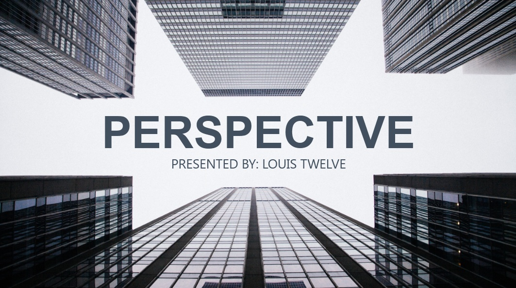Perspective PowerPoint Presentation Template