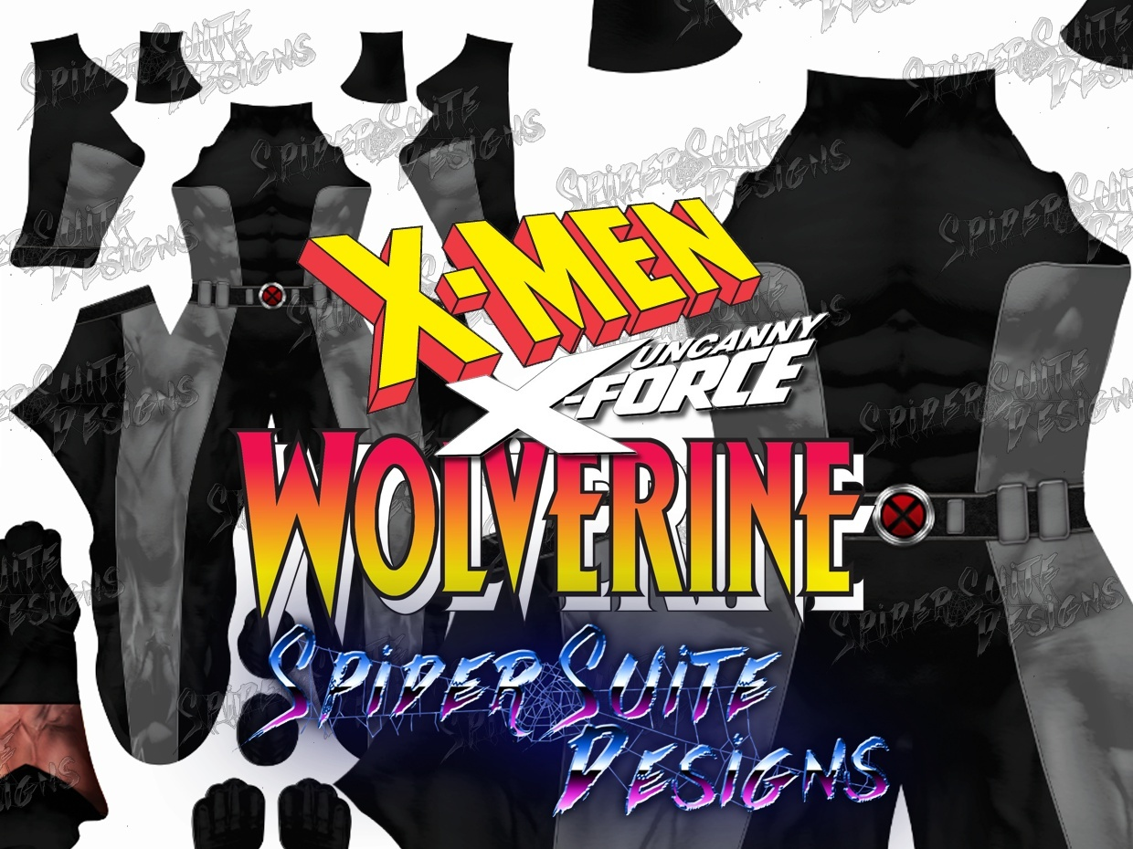 New Classic Comic X Force Wolverine 2017 Pattern