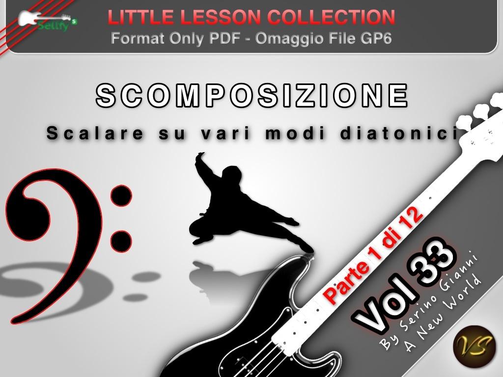 LITTLE LESSON VOL 33 - Format Pdf (in omaggio file Gp6)