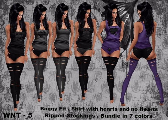 WNT - 5 Baggy Bundle