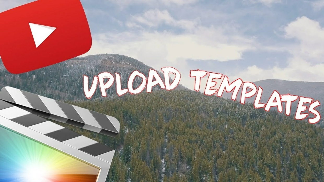 Upload Templates so you get it PERFECT every time! - Final Cut Pro X