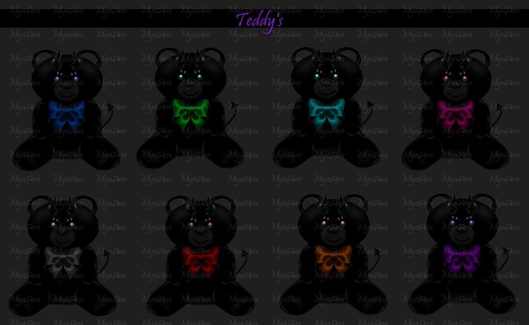 TeddyBear Add Ons 3