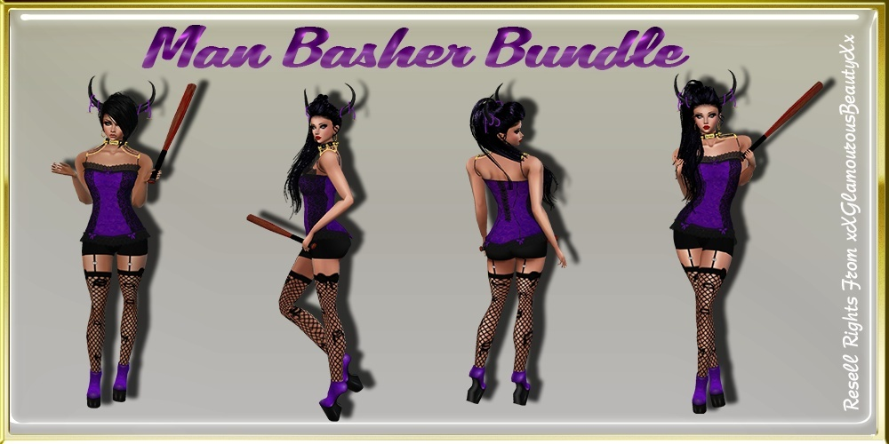 Man Basher Bundle Master Resell Rights!!!
