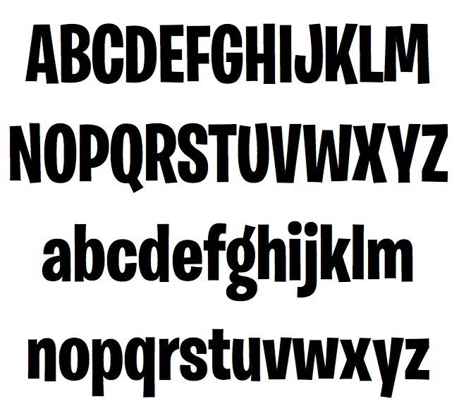 Fortnite Font