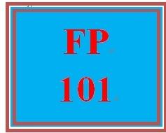 Fp 101 week 1 personal financial planning worksheet