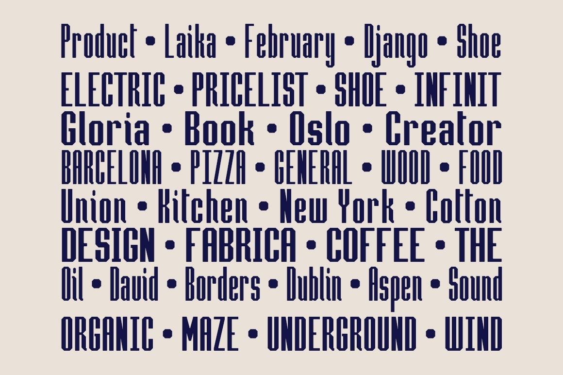 Hammerhead Typeface