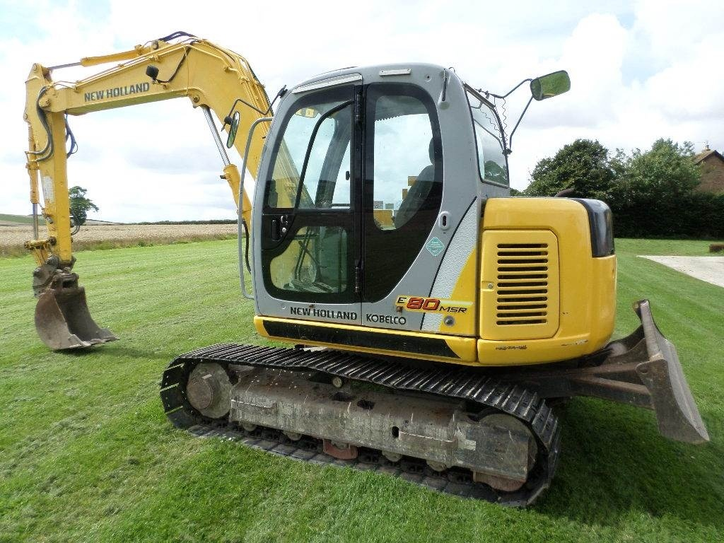 New Holland E80BMSR Midi Crawler Excavator Service Repair Manual Download