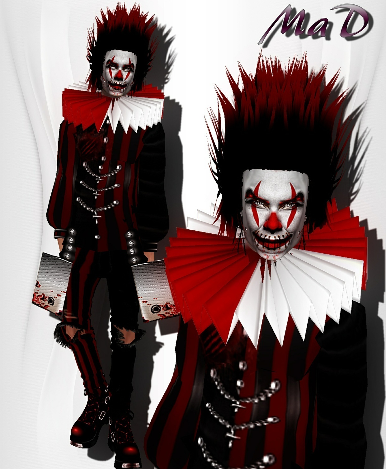 MaD Dark Clown bundle WITH RESELL RIGHTS