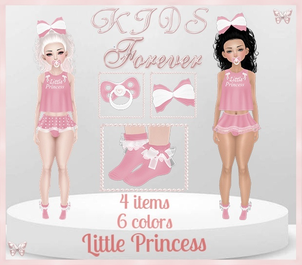 KIDS - 2 Little Princess Bundle