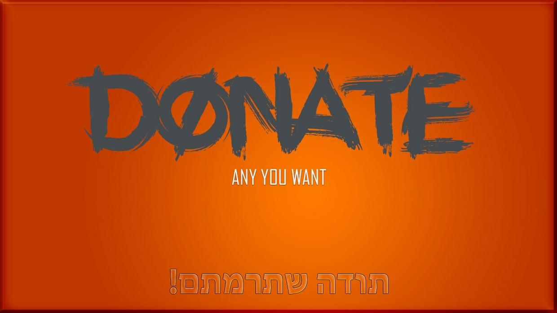 #DONATE# $AnyYouWant$