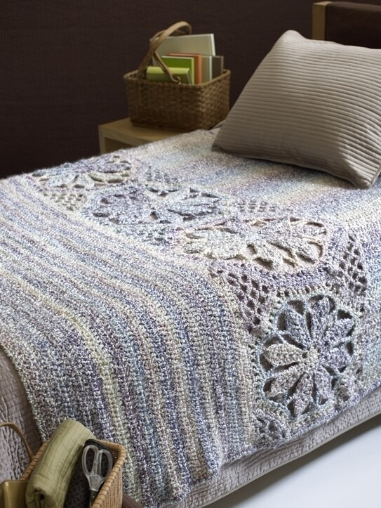 Magnolia Heirloom Afghan