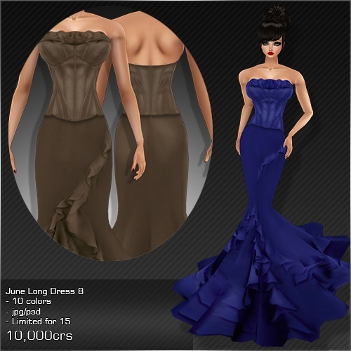 2013 Jun Long Dress # 8