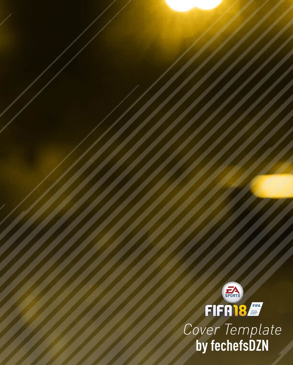 FREE FIFA 18 COVER TEMPLATE by fechefsdzn