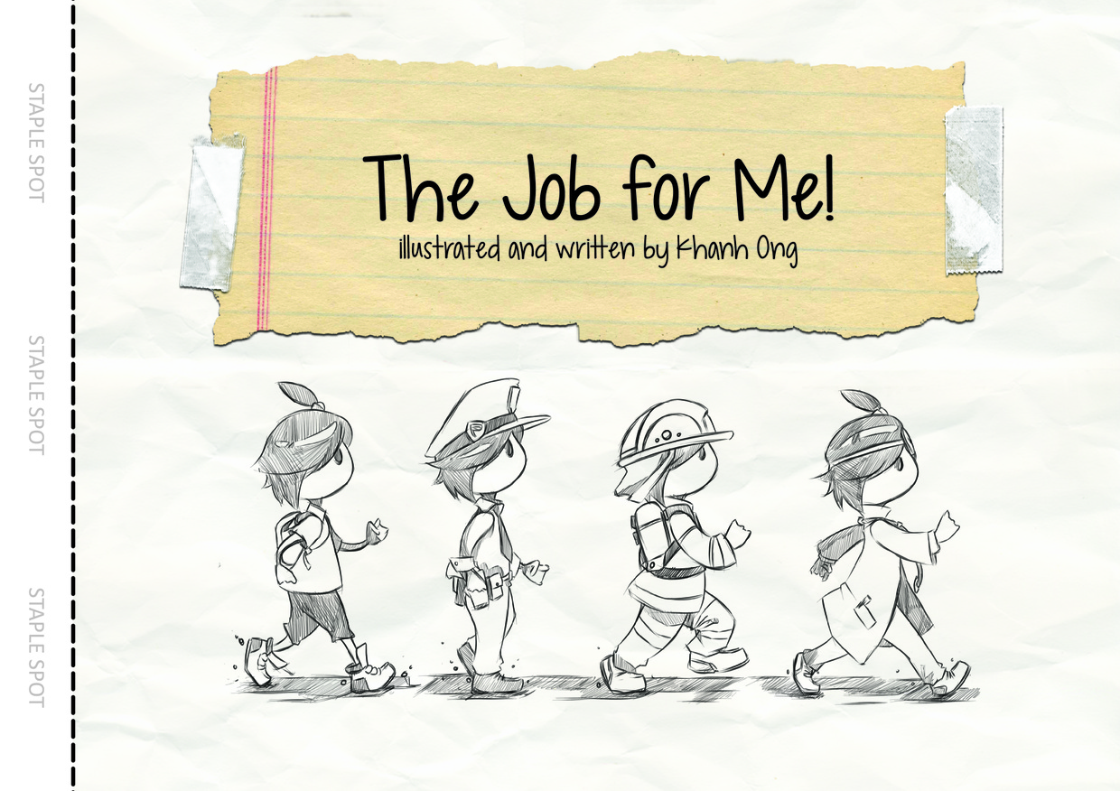 Childrens Book - A Job for Me! - A4 Sized