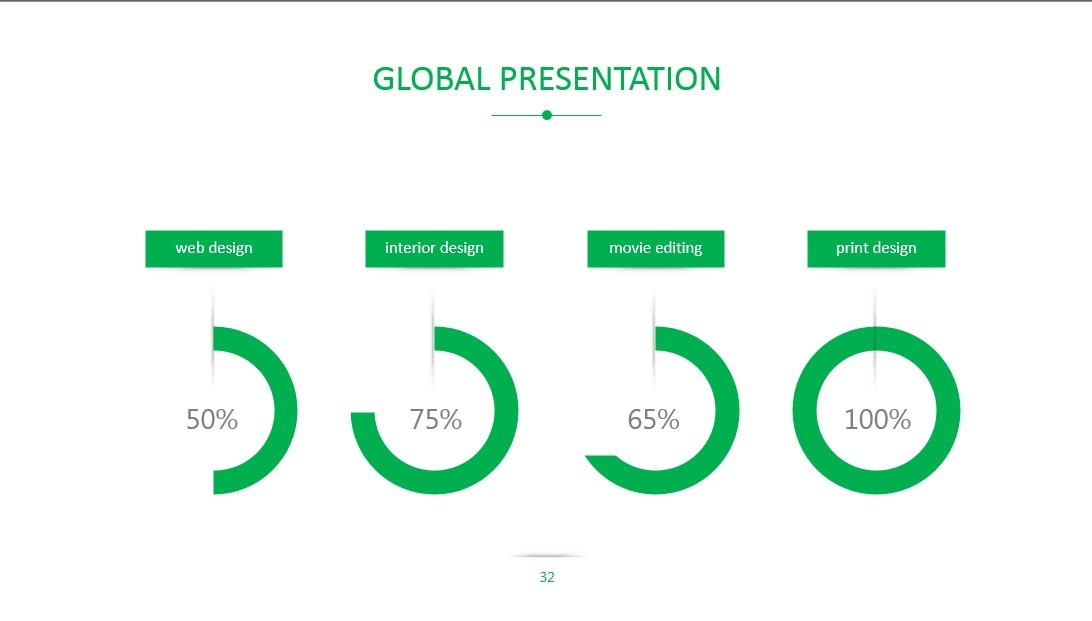 Global Business Presentation Template