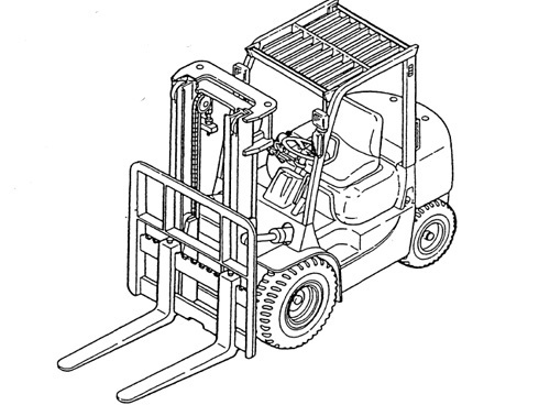 Caterpillar Cat GP15N - GP35N DP15N - DP35N lift Trucks Service Repair Manual Download