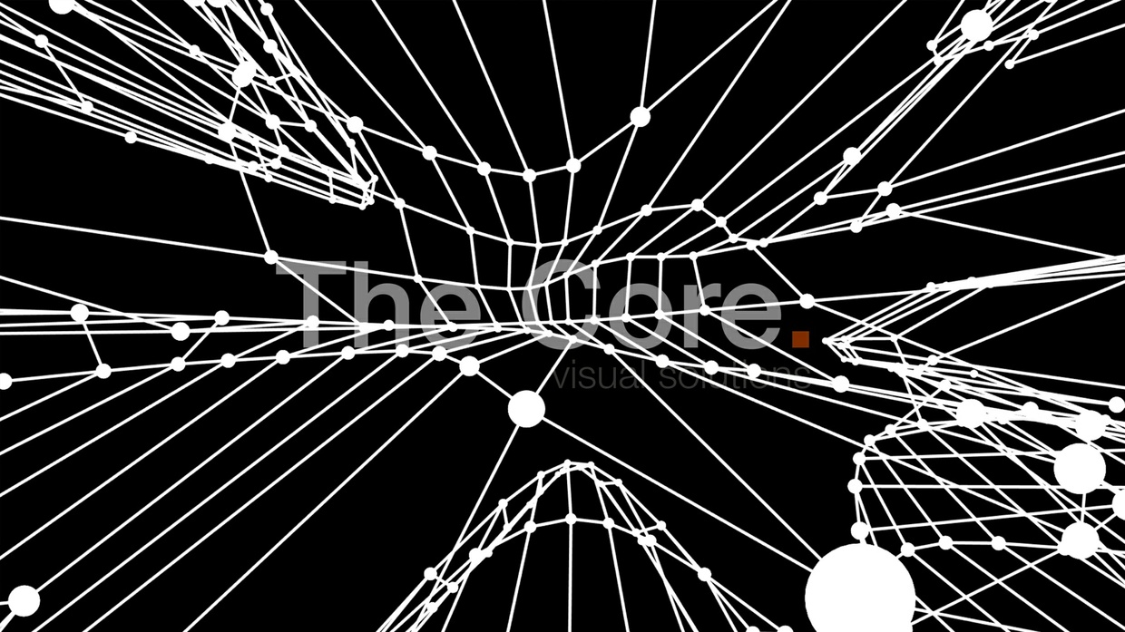 00058 WIRE GRID WAVING-2 HD 30fps by The Core