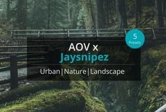 AOV x Jaysnipez Lightroom Presets
