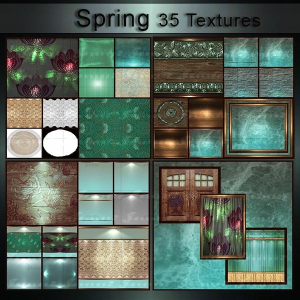 Spring-35 Textures