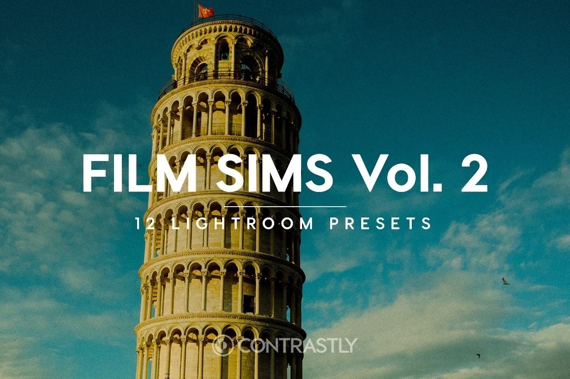Film Sims Lightroom Presets Vol. 2