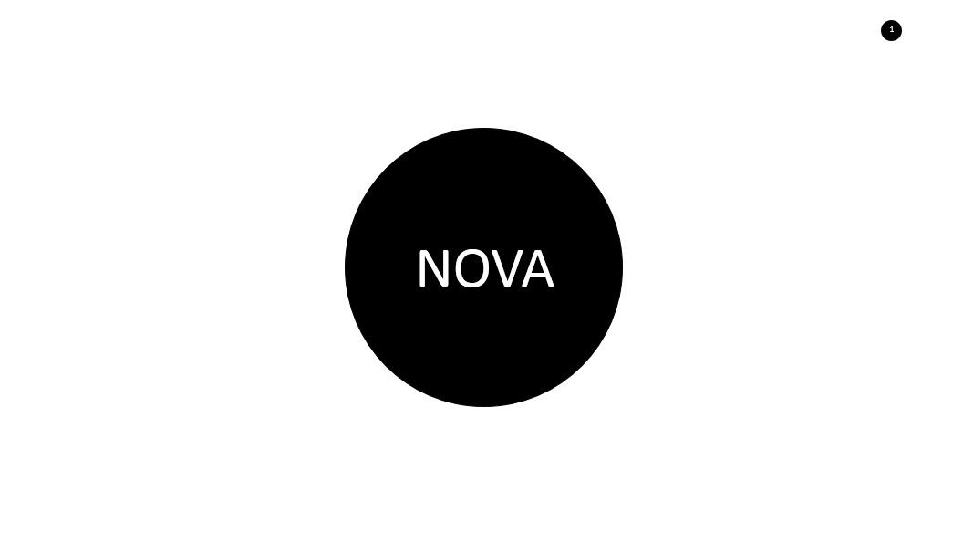 Nova Minimalist Presentation Template 2017