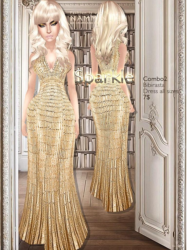 Sparkle Full combo imvu Bibirasta dress all sizes texture JPG