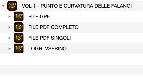 VOL 1 - PUNTO E CURVATURA DELLE FALANGI