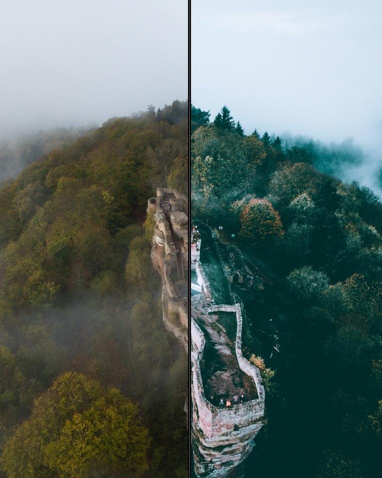 Moody Fog Preset