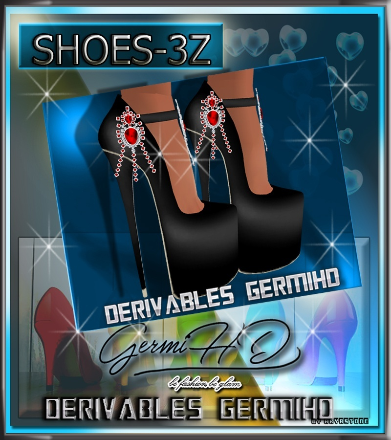 SHOES TEXTURE FREE 3Z