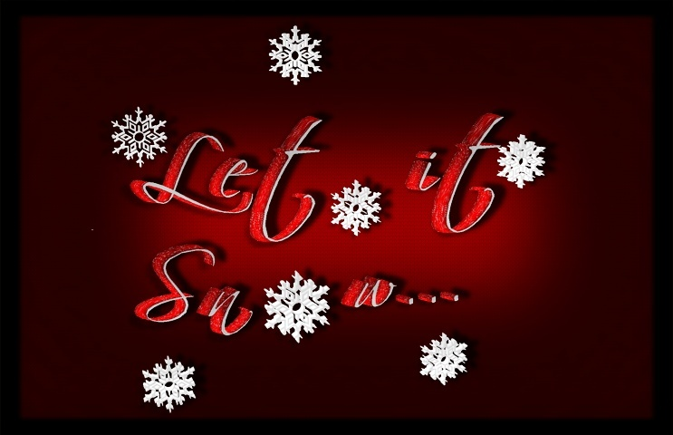 Mesh-Let it snow Quote